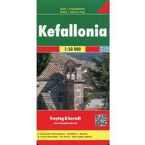Kefalonia mapa 1:50 000 Freytag & Berndt (2013)