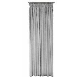 Eurofirany Firana Bonita srebrna 140 cm x 270 cm, kolor srebrny
