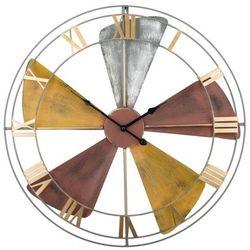 Zegar ścienny kolorowy wikon marki Beliani