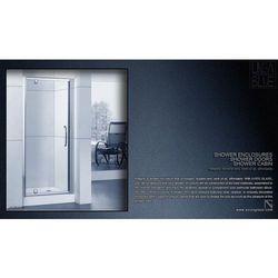 DRZWI PRYSZNICOWE AXISS GLASS AXP070WS 700mm z kategorii Drzwi prysznicowe