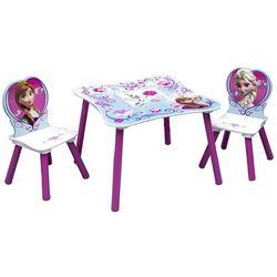 Delta kraina lodu stolik z krzesełkami dla dzieci