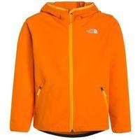 The North Face EXPLORATION Kurtka Softshell exuberance orange, kolor pomarańczowy