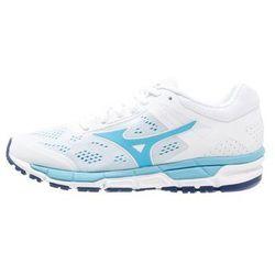 Mizuno SYNCHRO MX 2 Obuwie do biegania treningowe white/norse blue/blue depths z kategorii obuwie do biegania
