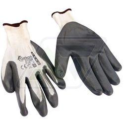 Rękawice robocze Geko szare 9 G73522