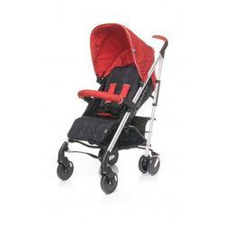 croxx wózek spacerowy spacerówka alu nowość red wyprodukowany przez 4baby