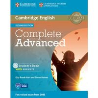 Complete Advanced 2Ed Sb Pack (Sb with answers, Class Audio CD (3)) egzamin 2015 (2014)