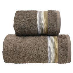 Ręcznik bawełniany ombre brązowy marki Greno