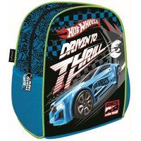 Plecak szkolno-wycieczkowy Hot Wheels niebieski Cabh MAJEWSKI (5903235111310)