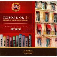 Pastele suche Koh-I-Noor Toison D'or 8514 24kol.