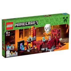 Lego Minecraft Minecraft The Nethe Fortress 21122, klocki do zabawy