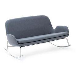 Sofa Era bujana na stalowych chromowanych nogach tkanina Fame Hybrid, 602984