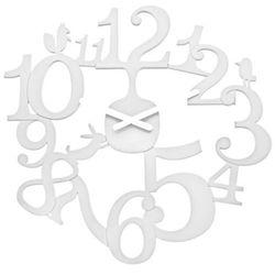Zegar ścienny biały Pi:p KZ-2327525, kolor biały