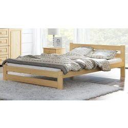 Łóżko drewniane Kada 90x200 EKO z materacem piankowym Megana