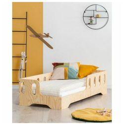 Lewostronne łóżko drewniane dziecięce 16 rozmiarów - filo 2x marki Producent: elior
