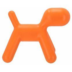 D2.design pies pomarańczowe siedzisko dziecięce