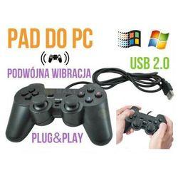 Pad/kontroler przewodowy usb, do komputera pc + wibracje itd., marki S.t.i. ltd.