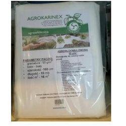 Agrowółknina zimowa PP 50 g/m2 biała 1,6 x 10 mb. - produkt z kategorii- Folie i agrowłókniny