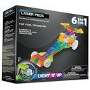 Laser Pegs, 6in1 Dragster, klocki Darmowa dostawa do sklepów SMYK