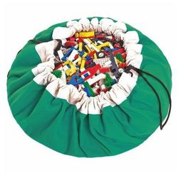 Play&go Worek na zabawki  - zielony, kategoria: pojemniki na zabawki