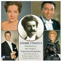 Warner music Johann strauss ii - orginal operetta highlights (limited)