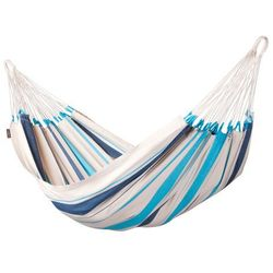 Hamak pojedynczy  caribena aqua blue marki La siesta