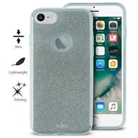 glitter shine cover - etui iphone 7 / iphone 6s / iphone 6 (light blue) limited edition marki Puro
