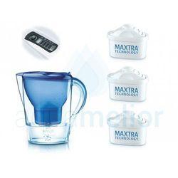 marella niebieski memo dzbanek filtrujący 2.4l + brita maxtra wkład filtracyjny 3 sztuki marki Brita