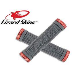 LZS-LOPDS300 Chwyty kierownicy LIZARDSKINS PEATY CHEERS LOCK ON 30x130 mm, grafitowe, klamry czerwone - produk