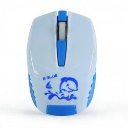 Mysz E-Blue Seico Minuscule, optyczna, bezprzewodowa, niebieska EMS615BLAA-IF Darmowy odbiór w 20 miastach!, kup u jednego z partnerów