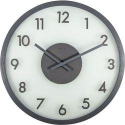 Zegar ścienny frosted wood grey by marki Nextime