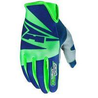 Axo Rękawice  sx niebiesko-zielone