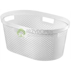 Kosz na pranie, do magla INFINITY 39l biały 04755 z kategorii Kosze na pranie
