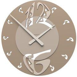 Zegar ścienny Ethnic CalleaDesign caffelatte, kolor brązowy