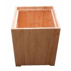Elior Kwadratowa drewniana donica ogrodowa - monato
