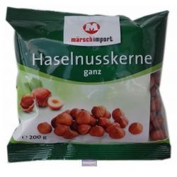 Orzechy laskowe 200g - produkt z kategorii- Bakalie, orzechy, wiórki
