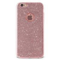Puro Etui  glitter shine cover do iphone 6/6s różowy