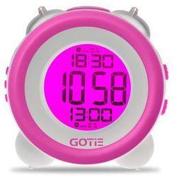 Budzik GOTIE GBE-200 Fioletowy (5904730198325)