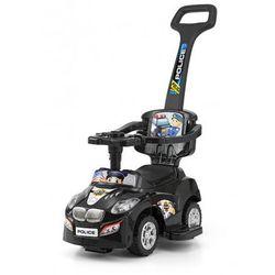 Milly Mally jeździk dziecięcy HAPPY pchacz samochód black - produkt z kategorii- Pchacze