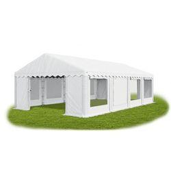 4x8x2m, Solidny Namiot bankietowy, handlowy, imprezowy z moskitierą, konstrukcja WINTER/PE 32m2