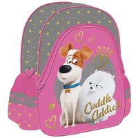 Plecak szkolno-wycieczkowy THE SECRET LIFE OF PETS + zakładka do książki GRATIS