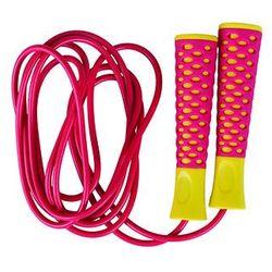Spokey, Candy Rope, skakanka, żółto-czerwona