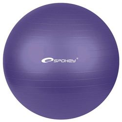 Piłka gimnastyczna FITBALL śr.55 cm + pompka Spokey (fioletowa) - sprawdź w Fitness.Shop.pl