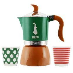 Bialetti fiammetta pop kawiarka 3 tz + 2 filiżanki 80 ml