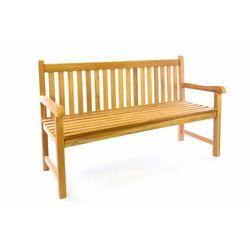 Ogrodowa drewniana ława DIVERO - 150 cm