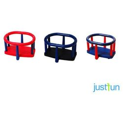 Huśtawka kubełkowa LUX - czerwono-niebieski z kategorii Huśtawki ogrodowe