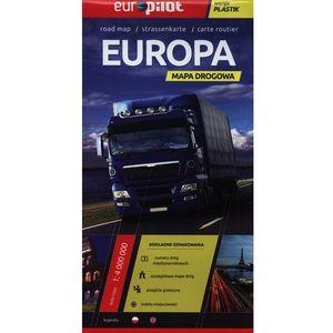 Europa. Mapa drogowa 1:4 000 000 (2012)