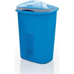 Meliconi Kosz na pranie 50+10 l, niebieski (8006023134199)
