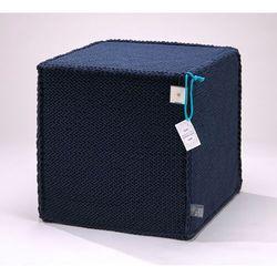 Puf beauty cube dark blue by marki We love beds