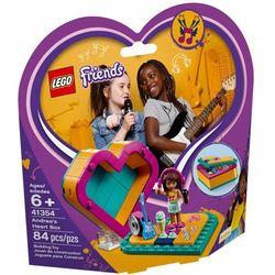 41354 PUDEŁKO W KSZTAŁCIE SERCA ANDREI (Andrea's Heart Box) KLOCKI LEGO FRIENDS, 41354