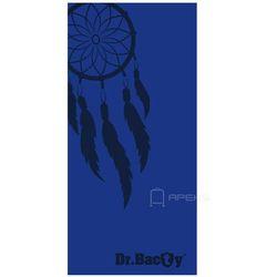 Dr.Bacty L Indian Blue szybkoschnący ręcznik treningowy - Indian Blue